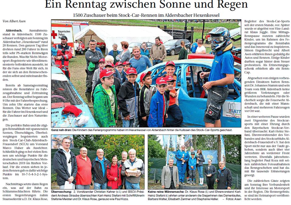 Rennen Aldersbach 2019